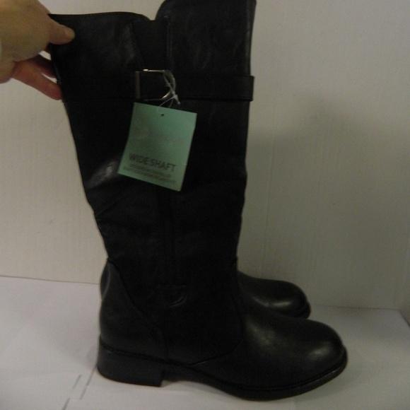 669a682491a MarabellaTammy Plus Wide Shaft Boots NWT 8 1 2 M